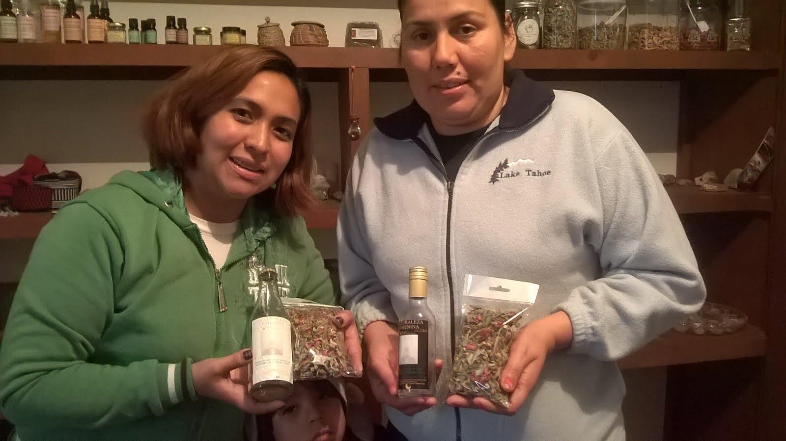 """Nuestras amigas con sus """"Tes mágicos""""  diciembre 2015!"""