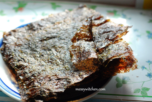 Gim Gui - Roasted Seaweed | Korean Recipes