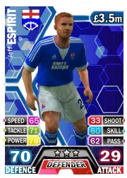 Jeff Espirit (Deans Park) Match Attax