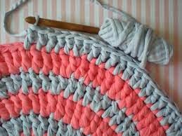 alfombra de ganchillo con trapillo diy