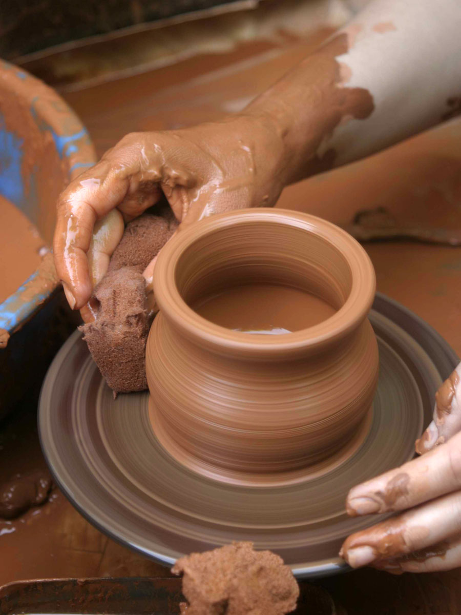 Procesos de conformaci n y deformaci n t cnicas de for Tecnicas para esmaltar ceramica