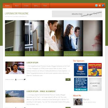 Malatino Mag blogger template. seo blogger template. magazine style template blogspot