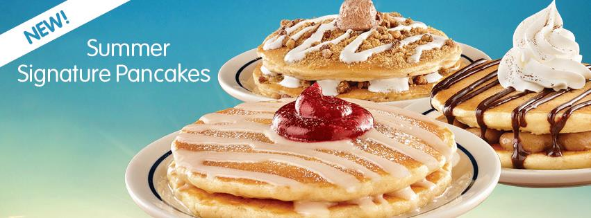 ... IHOPs 55th Birthday with New Summer Signature Pancakes (Review