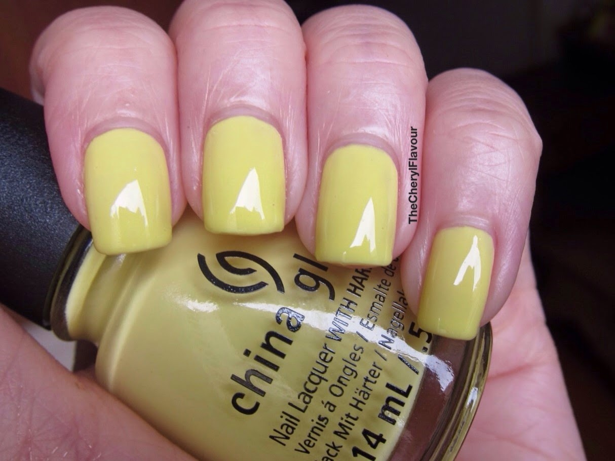 China Glaze Sun Upon My Skin