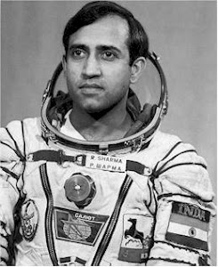 First Hindustani to venture into outer space
