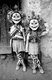 creepy scary weird wtf vintage photo image tradition costume mask