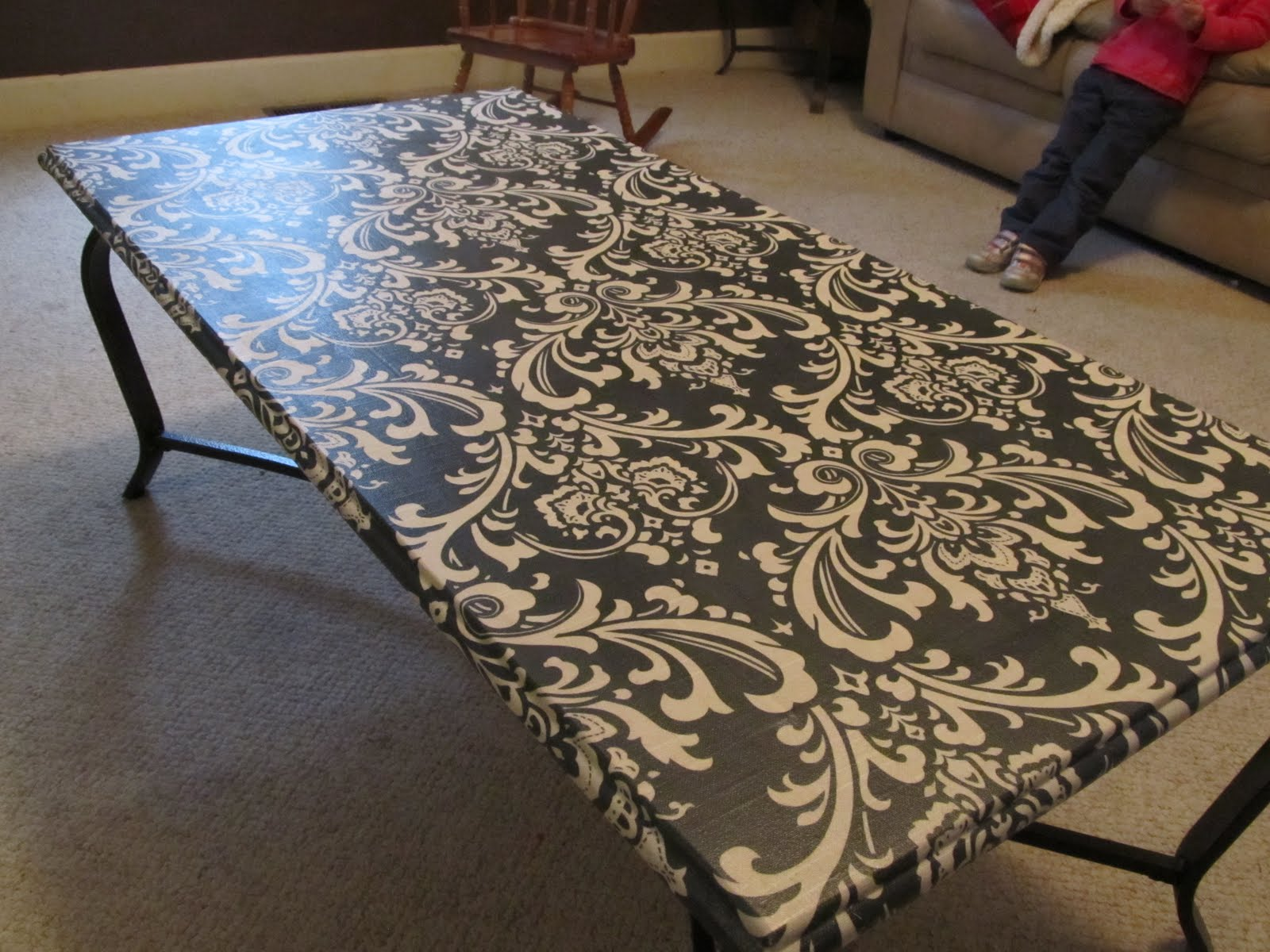 Inside 52 Coffee Table Decoupage Makeover