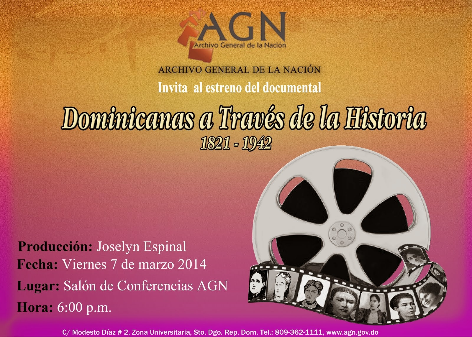 Documental Dominicanas a través de la Historia