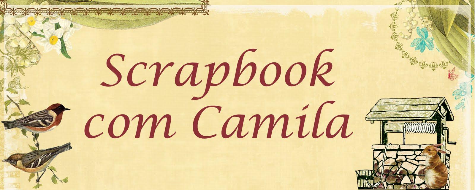 Scrapbook com Camila