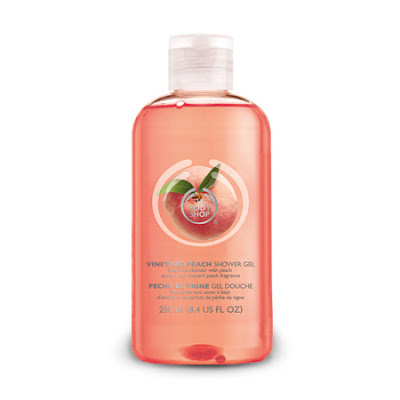 The Body Shop, The Body Shop Vineyard Peach Shower Gel, The Body Shop shower gel, The Body Shop body wash, body wash, shower gel, shower