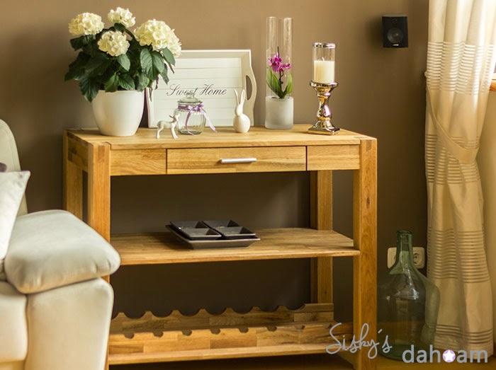 Dekorationsideen und diy sisky s dahoam neue dekoration for Dekorationsideen wohnzimmer