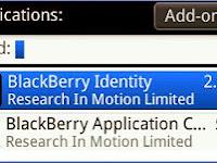 Cara Ganti Blacberry ID Tanpa Wipe
