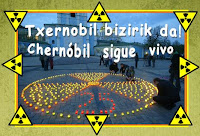 Velas por Chernóbil, 25 años después, su legado continúa