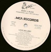 Mary J. Blige – Love No Limit (Promo VLS) (1993)