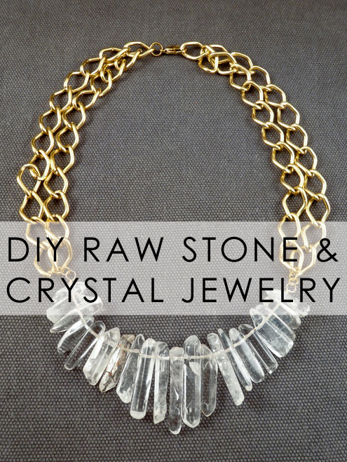 Bromeliad diy raw stone and crystal jewelry fashion and for Diy stone projects