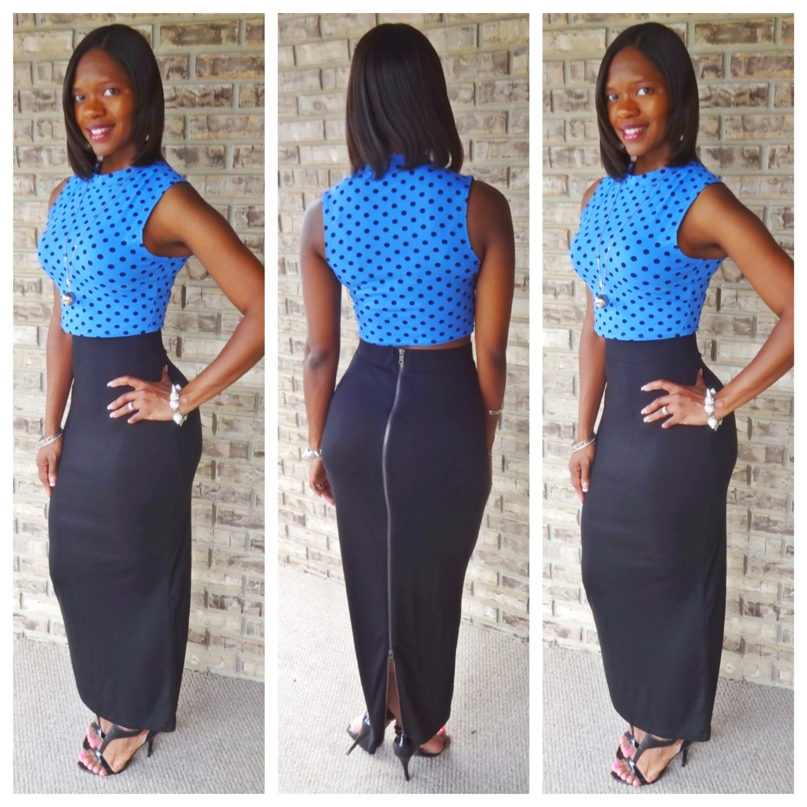 The Long Fitted Maxi Skirt Trend | Welcome to Amerie's Blog