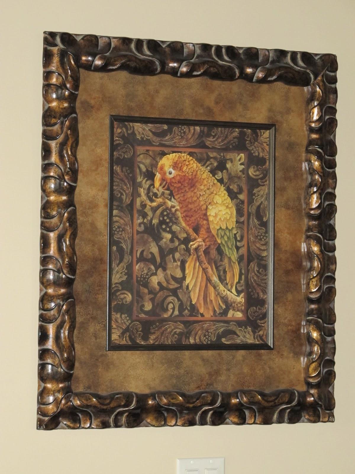 Projects Plenty Parrot Prints and Hobby Lobby