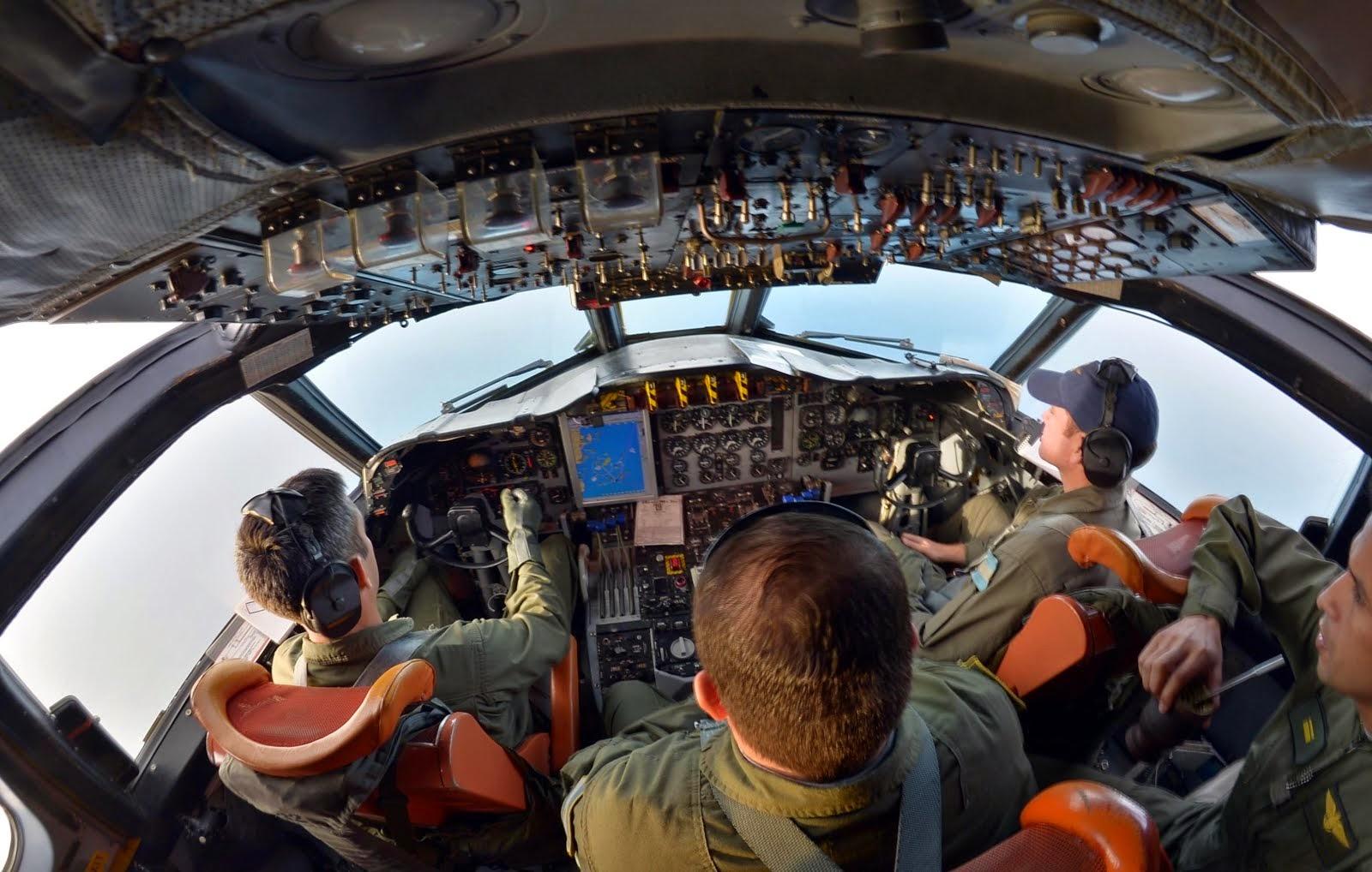 La Escuadrilla Aeronaval de Exploración realiza vuelos de búsqueda y rescate