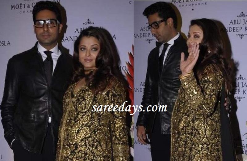 Latest saree designs nine months pregnant aishwarya rai in designer nine months pregnant aishwarya rai in designer salwar suit altavistaventures Images