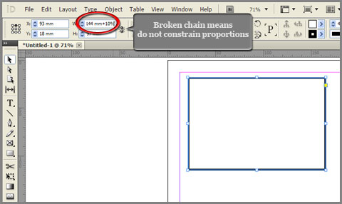Type any measurement unit in InDesign preceded with math operation sign