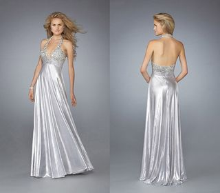 silver colored wedding dresses 96