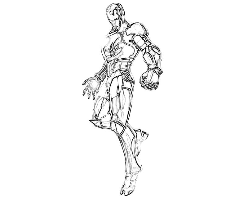Marvel vs Capcom Iron Man Character | Yumiko Fujiwara