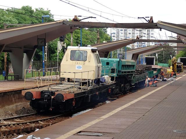 MPD-605 platforma samobieżna