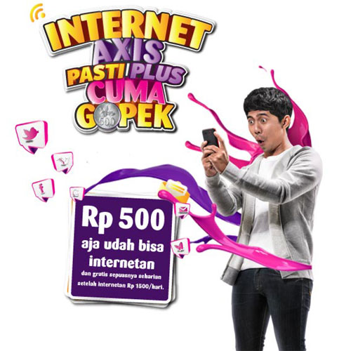 Promo Internet Harian AXIS 500