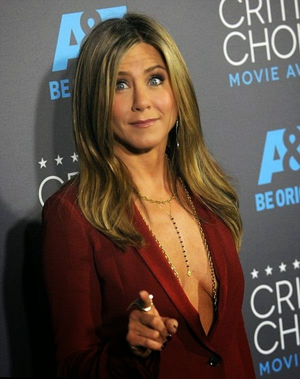 And Jennicer Aniston prepared her overall show by a grat dignity. . . . .Thanks for your masculine smile.