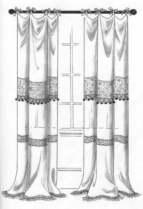 curtain design drawings pictures to pin on pinterest