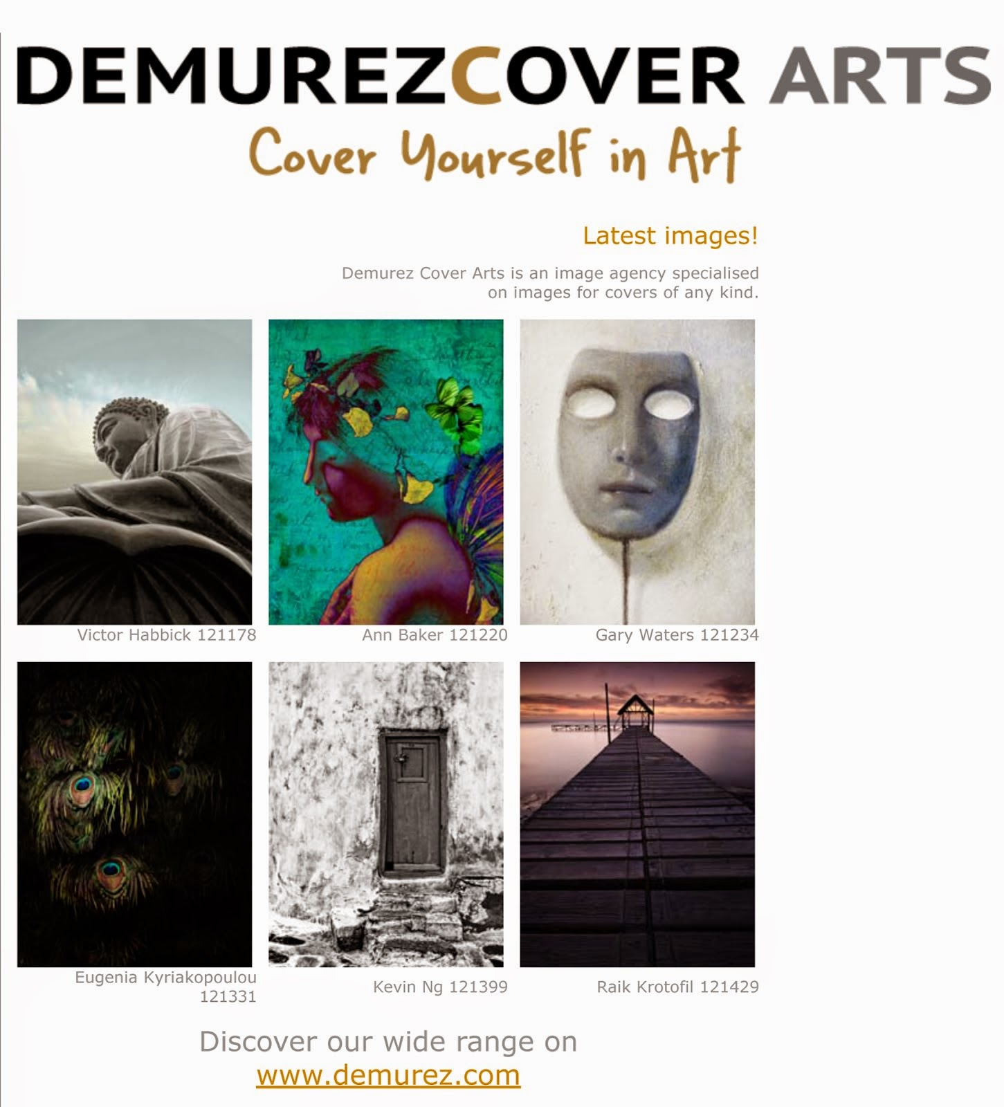 DEMUREZ COVER ARTS