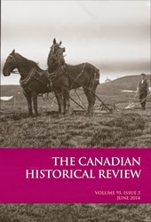 Canadian Historical Review cover