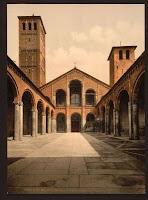 Basilica Sant'Ambrogio  - Milano
