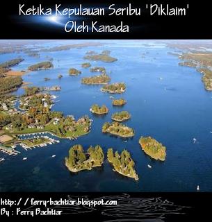 Ketika Kanada Mengklaim Kepulauan Seribu