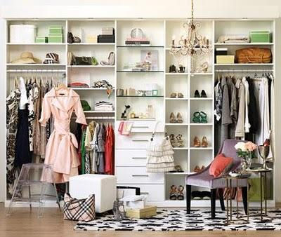 Since Not All Of Us Can Have Carrie Bradshawu0027s Closet, Here Are 10 Tips To Organize  Your Closets And Clear The Clutter With These Clever Methods And ...