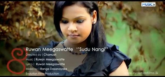 Sudu Nangi music video by Ruwan Meegaswatte : Amazing sri lankan