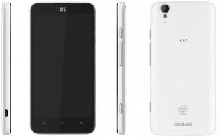 ZTE Geek, Smartphone Android Jelly Bean Berprosesor Intel Clover Trail 2 GHz