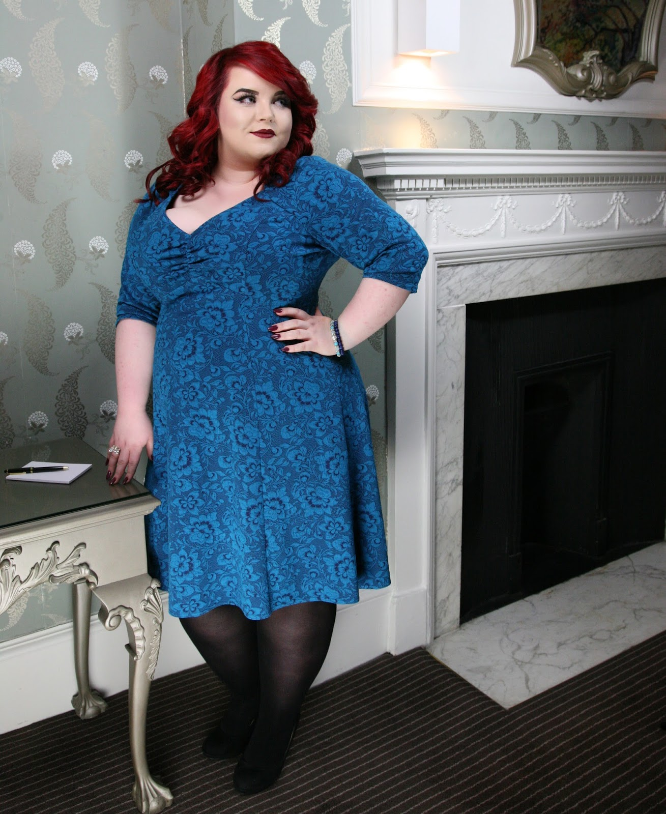 Charnos Xelence Plus Size Tights, scarlett & jo, georgina grogan, plus size blogger