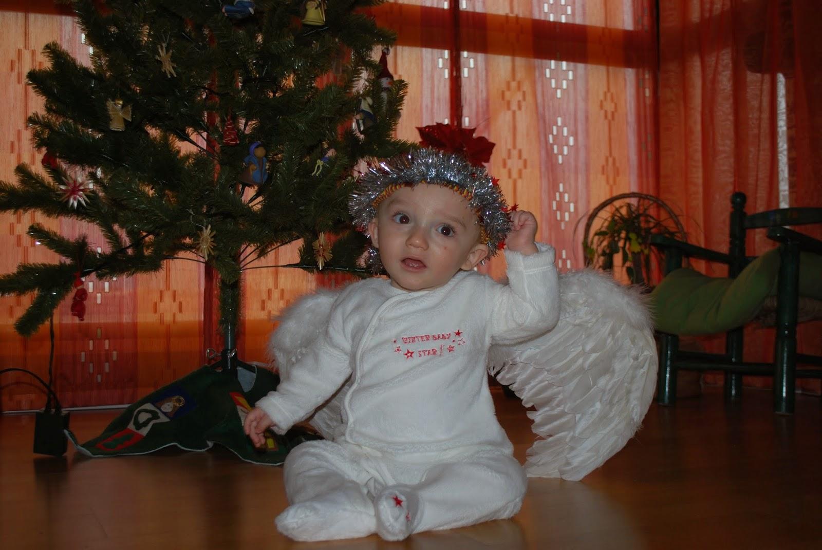 Madre mujer maestra disfraces caseros beb y ni o - Disfraz de angel nino ...