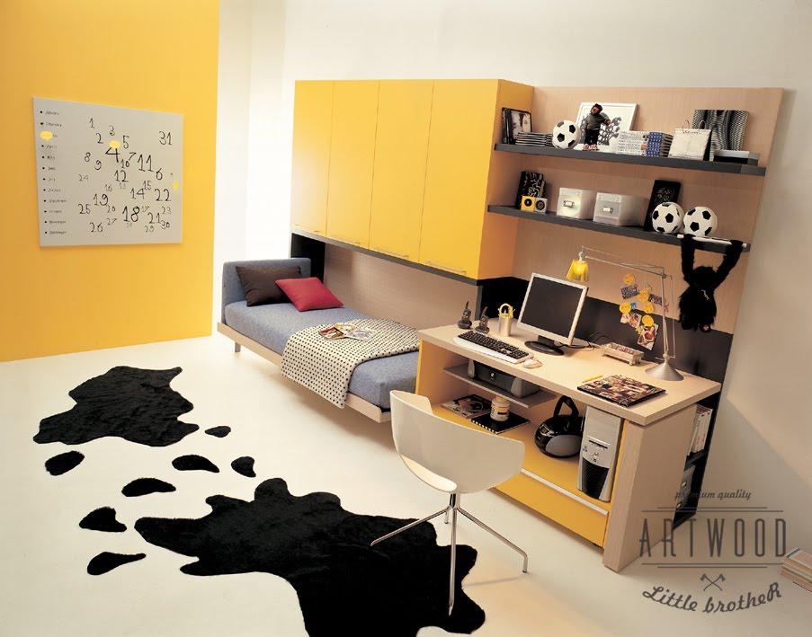 cool teenage furniture. Cool Teenage Bedroom Furniture Yellow