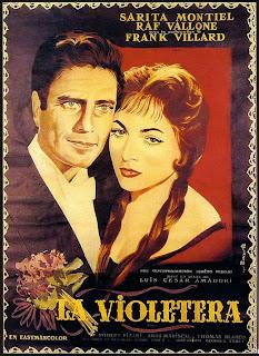 La violetera 1968 | Sara Montiel | Caratula - Cine clásico