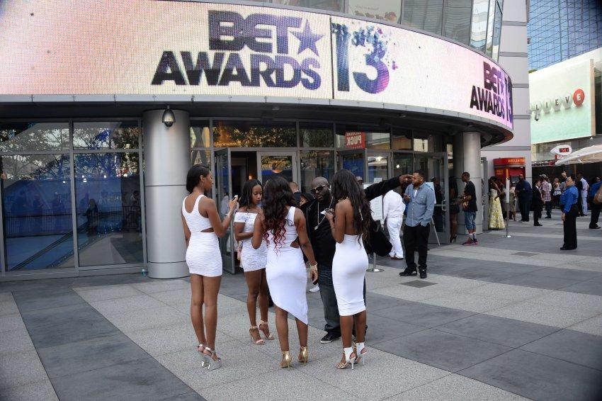 stars at the BET AWARDS