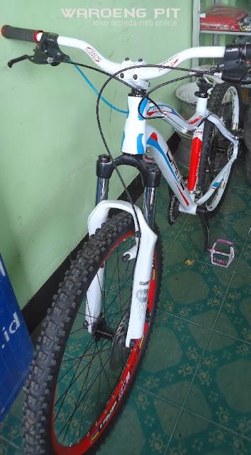 Jual Sepeda Mtb Gunung Downhill full bike Rakitan murah hemat terjangkau untuk semua kalangan 2