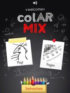 「colAR Mix」のキャプチャ
