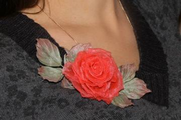 Как сделать розу из волос в прическе