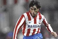 O extremo-esquerdo ao serviço do Atlético de Madrid.