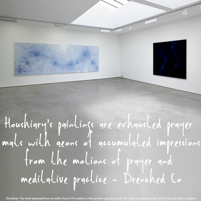 Image of Lisson Gallery, London with exhibition review by Drenched Co