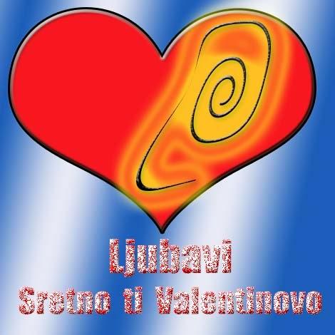 ljubavna čestitka za valentinovo