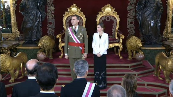 King Felipe And Queen Letizia Attended Pascua Militar Day 2016