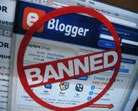 website dan blog dibanned